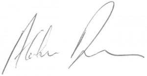 Alaistair signature